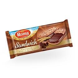 Roma Sandwich Coklat 130 gram